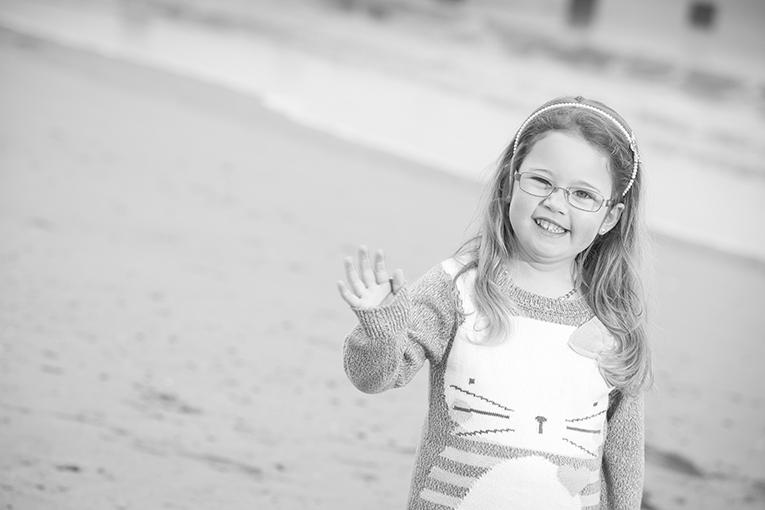 Rhyl Beach Black and white photos