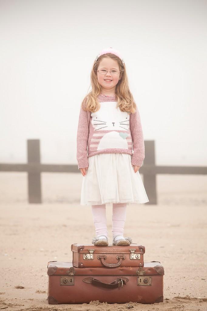 Suitcase Portrait Photos
